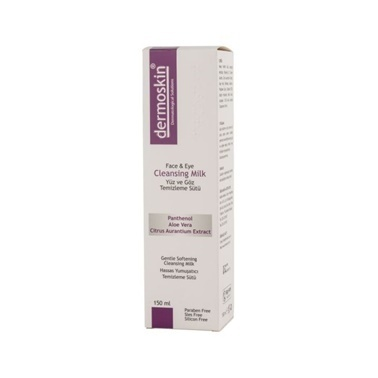 Dermoskin  Face and Eye Cleansing Milk 150ml Renksiz